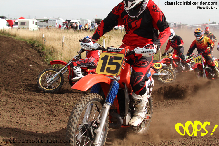 National Twinshock Championship 2015 Photos Round 6 Gale Common classicdirtbikerider.com Evo Vintage Motocross 30