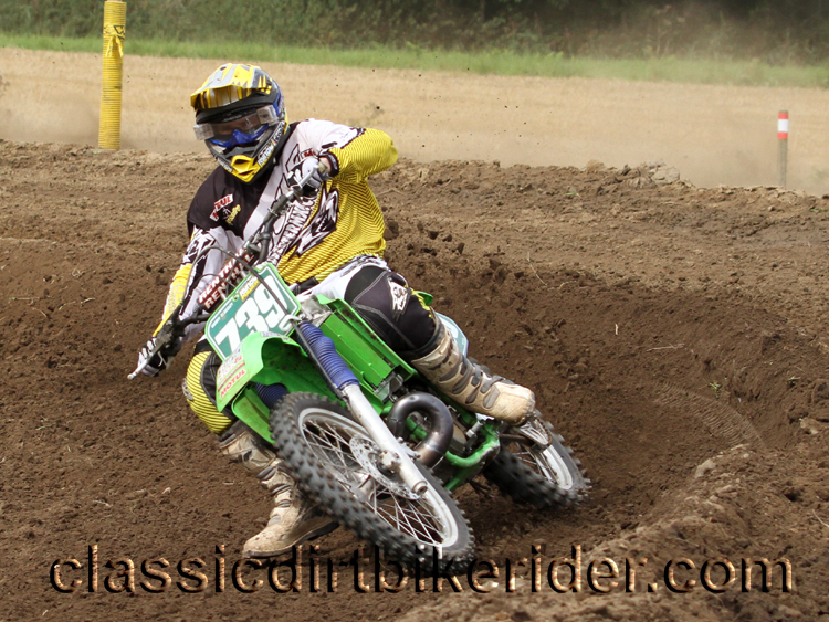 National Twinshock Championship 2015 Photos Round 6 Gale Common classicdirtbikerider.com Evo Vintage Motocross 40