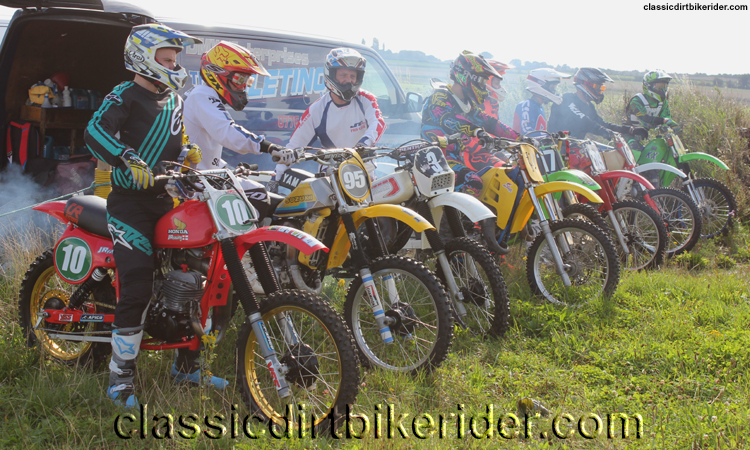 National Twinshock Championship 2015 Photos Round 6 Gale Common classicdirtbikerider.com Evo Vintage Motocross 5