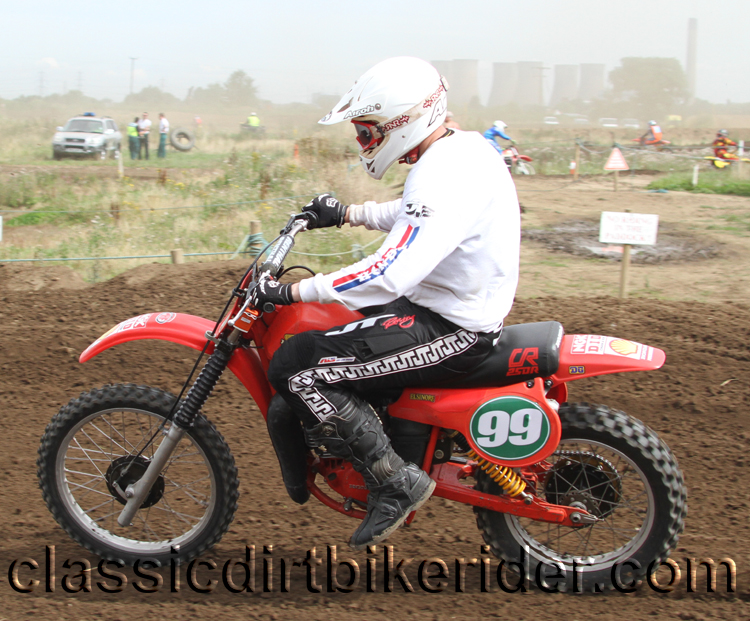 National Twinshock Championship 2015 Photos Round 6 Gale Common classicdirtbikerider.com Evo Vintage Motocross 50