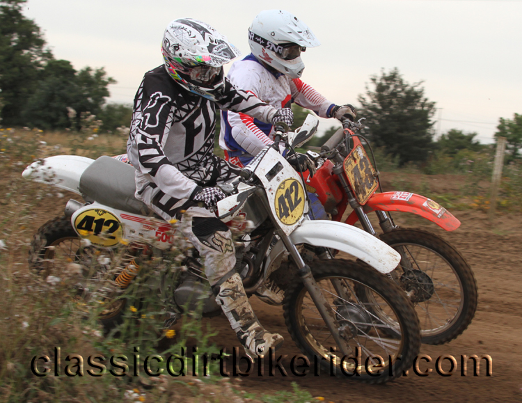 National Twinshock Championship 2015 Photos Round 6 Gale Common classicdirtbikerider.com Evo Vintage Motocross 75