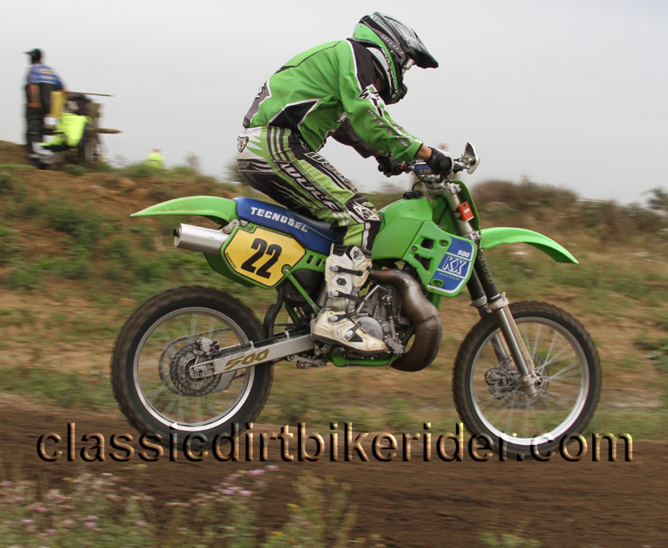 National Twinshock Championship 2015 Photos Round 6 Gale Common classicdirtbikerider.com Evo Vintage Motocross 80