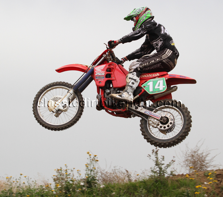 National Twinshock Championship 2015 Photos Round 6 Gale Common classicdirtbikerider.com Evo Vintage Motocross 86