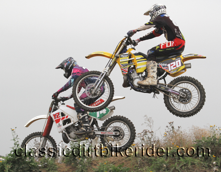 National Twinshock Championship 2015 Photos Round 6 Gale Common classicdirtbikerider.com Evo Vintage Motocross 88