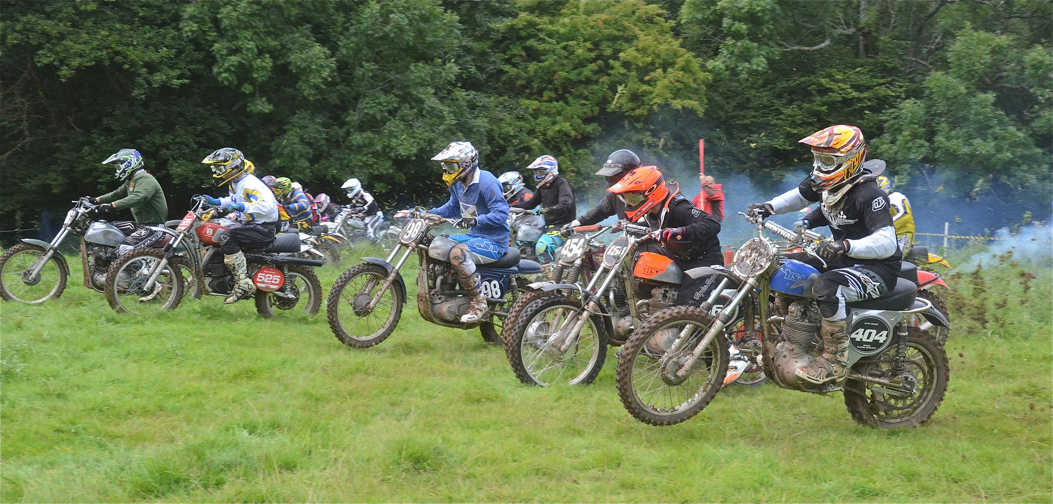Llanthony Classic Scramble Photos September 2015 classicdirtbikerider.com..13