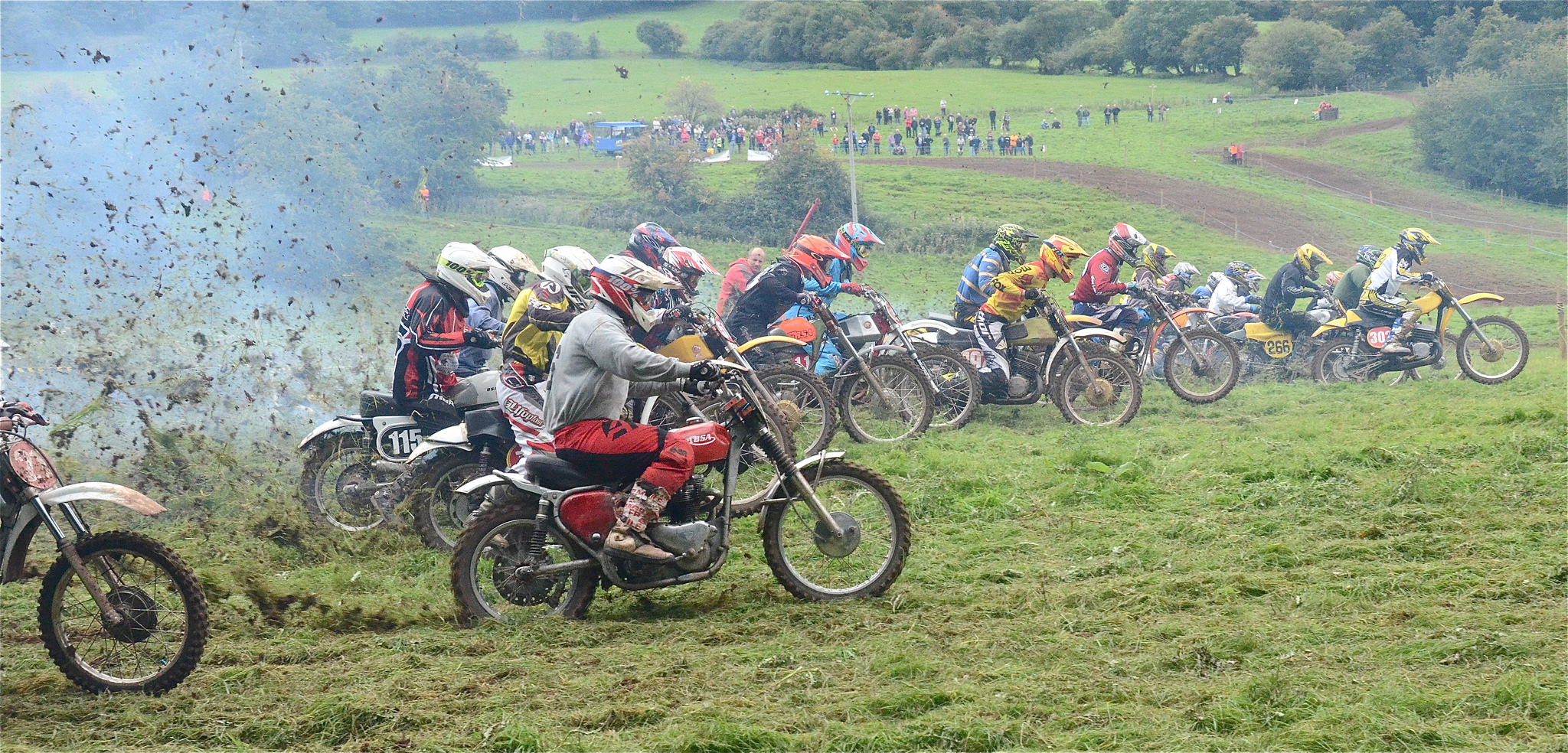Llanthony Classic Scramble Photos September 2015 classicdirtbikerider.com..31