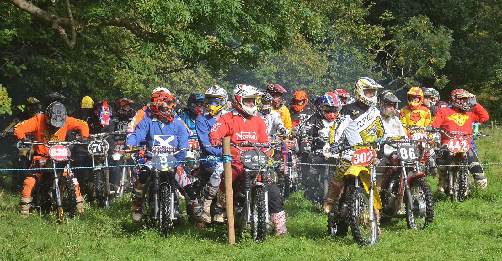 Llanthony Classic Scramble Photos September 2015 classicdirtbikerider.com..4