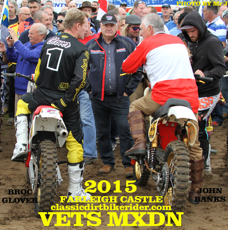 Vets MXDN 2015 PHOTOS & REPORT classicdirtbikerider.com BROC GLOVER JOHN BANKS CCM