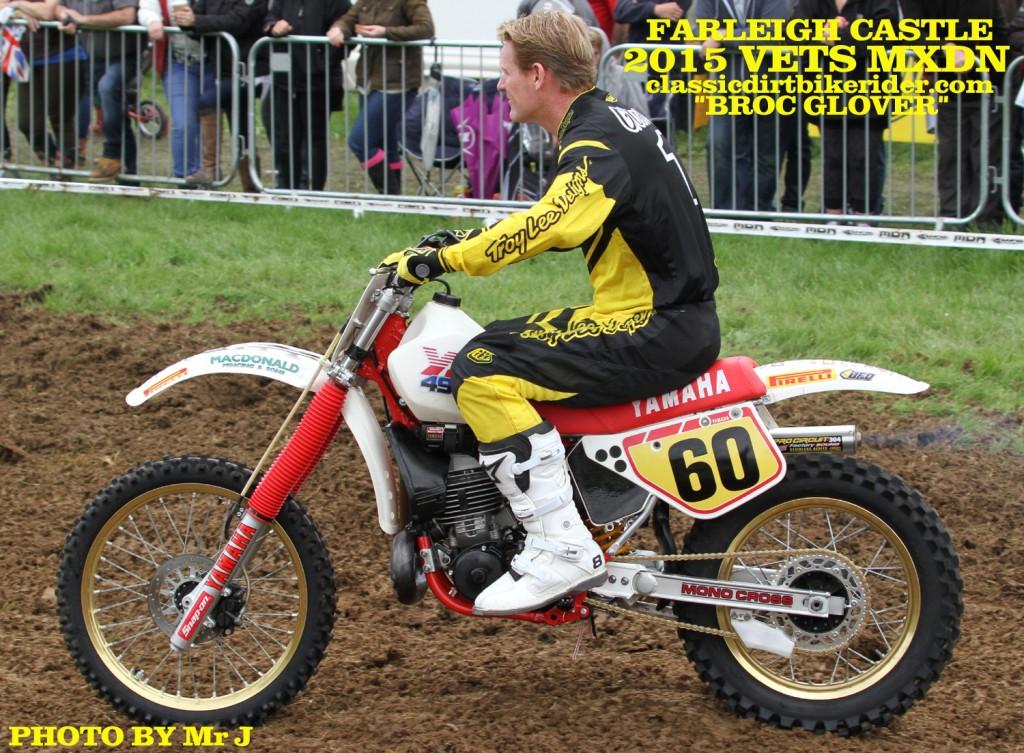Vets MXDN 2015 PHOTOS & REPORT classicdirtbikerider.com Broc Glover American motocross Hero