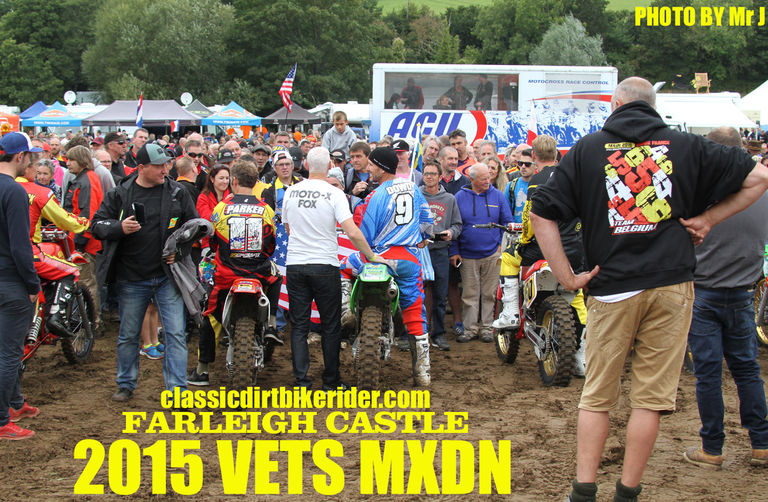 Vets MXDN 2015 PHOTOS & REPORT classicdirtbikerider.com Dave King keeps an eye on proceedings