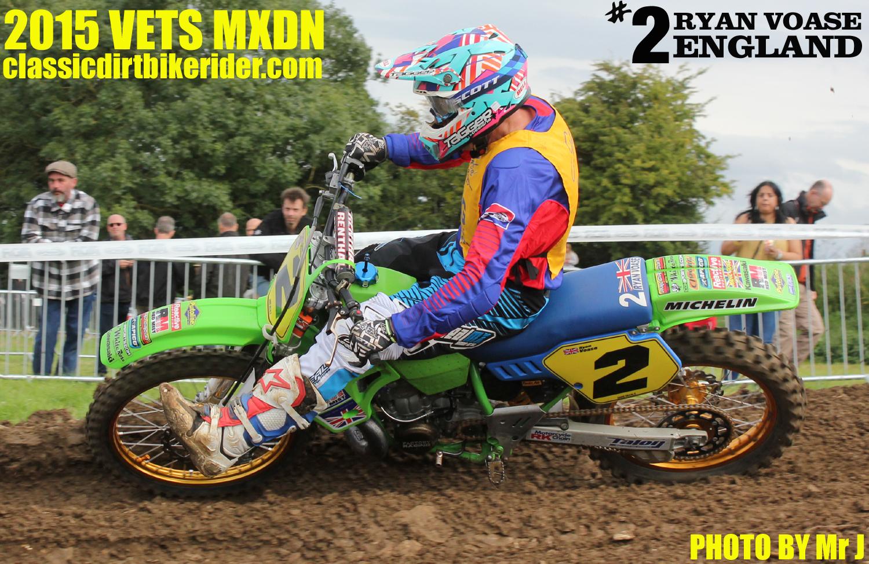 Vets MXDN 2015 PHOTOS & REPORT classicdirtbikerider.com Ryan Voase vintage Evo motocross