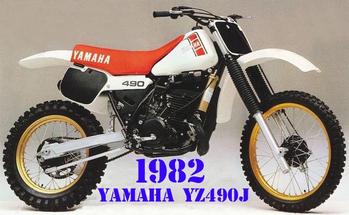 1982 YAMAHA YZ490J