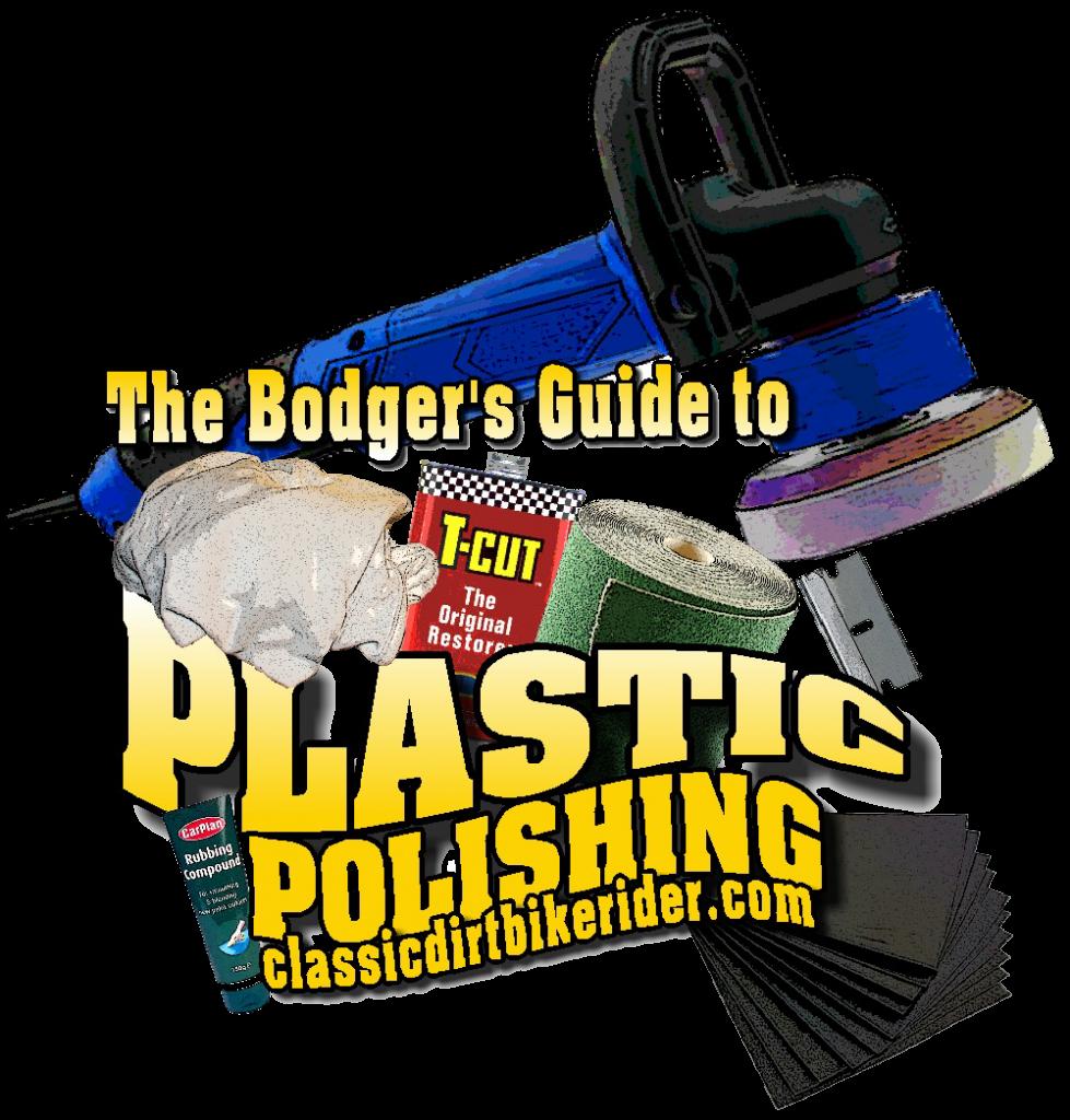 guide to plastic polishing motocross bike parts mudguard side panel fuel tank radiator shroud classicdirtbikerider.com