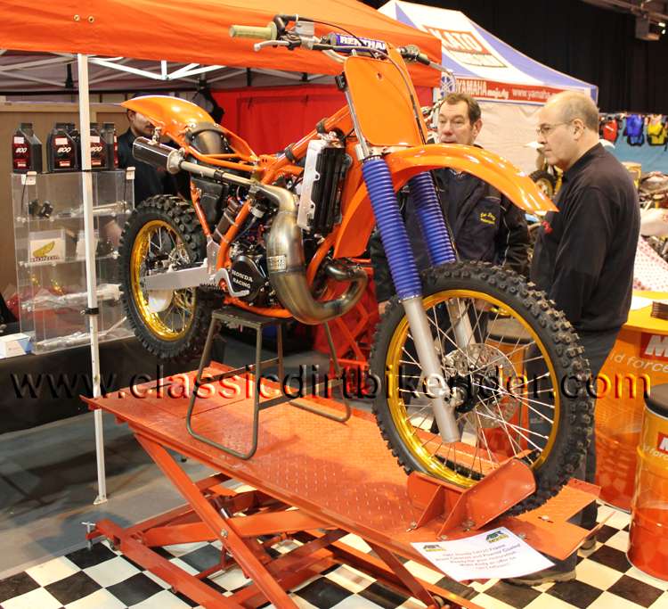 2016 classic dirtbikeshow Telford sponsored by Hagon shocks show report & pictures photos www.classicdirtbikerider.com ASR Racing