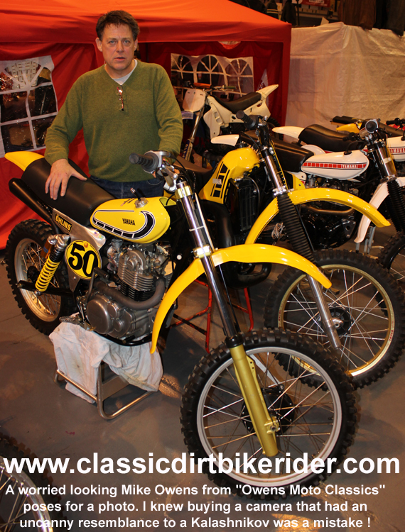 owens moto classics 2016 classic dirtbikeshow Telford sponsored by Hagon shocks show report & pictures photos www.classicdirtbikerider.com
