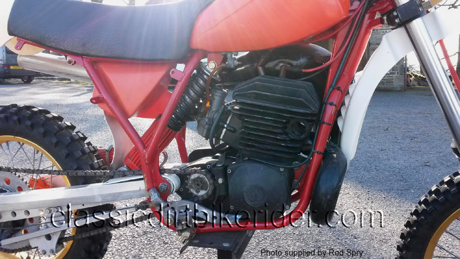 1982 Wilcomoto 500cc Evo motocross bike www.classicdirtbikerider.com 2