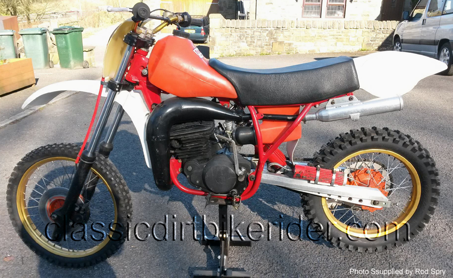 1982 Wilcomoto 500cc Evo motocross bike www.classicdirtbikerider.com 5