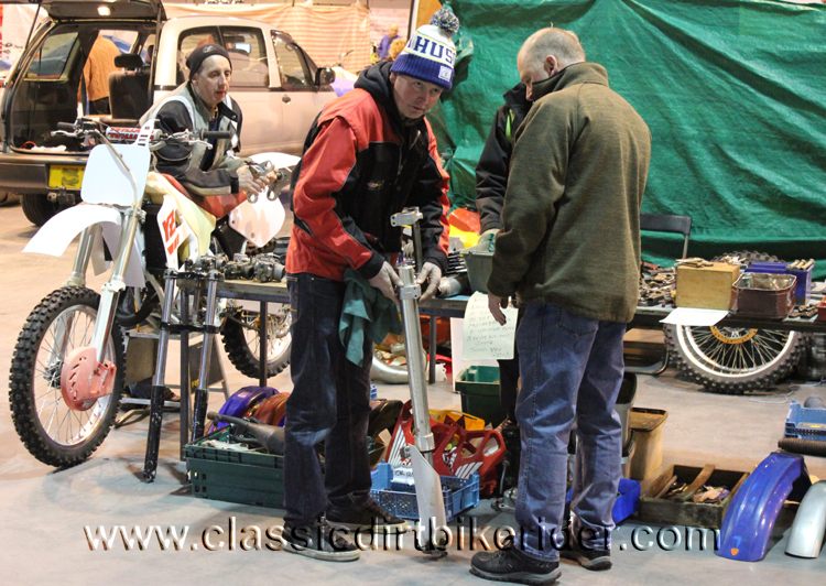 2016 Hagon classic dirtbike show Telford report review picture photos classicdirtbikerider.com 2