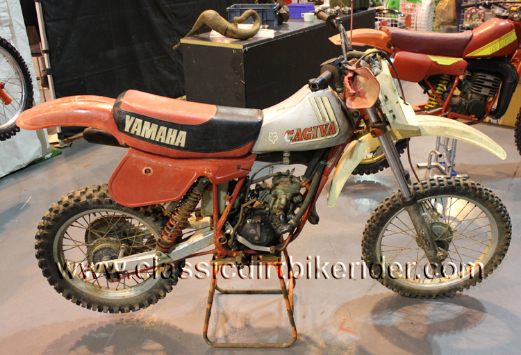 2016 classic dirtbike show Telford REPORT & PHOTO GALLERY CAGIVA MOTOCROSSjpg