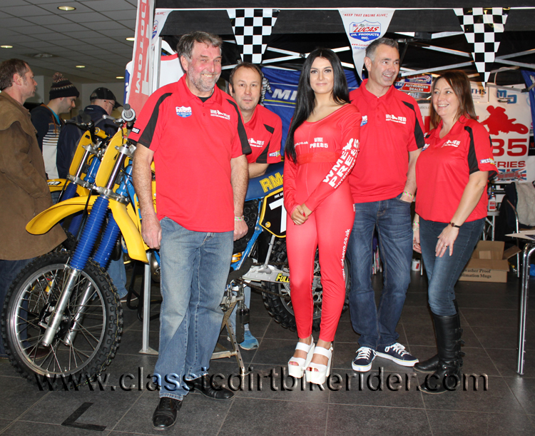 2016 classic dirtbikeshow Telford sponsored by Hagon shocks show report & pictures photos www.classicdirtbikerider.com WME Pre 85