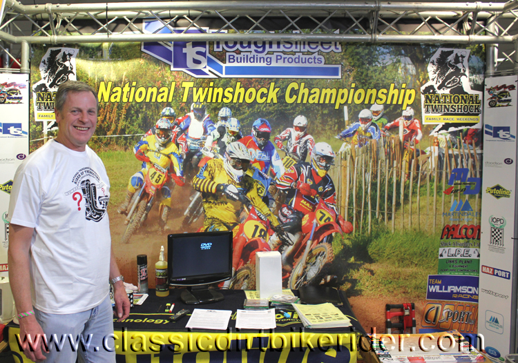 National twinshock championship 2016 classic dirtbikeshow Telford sponsored by Hagon shocks show report & pictures photos www.classicdirtbikerider.com