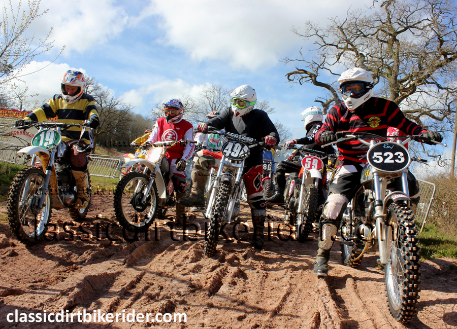 2016 WME PRE 85 EVO MOTOCROSS SERIES ROUND 1 ROSS ON WYE CLASSIC SCRAMBLE PONTRILAS (103) copy
