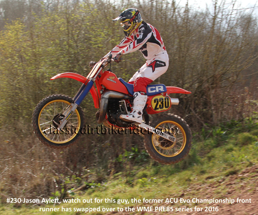 2016 WME PRE 85 EVO MOTOCROSS SERIES ROUND 1 ROSS ON WYE CLASSIC SCRAMBLE PONTRILAS (26)