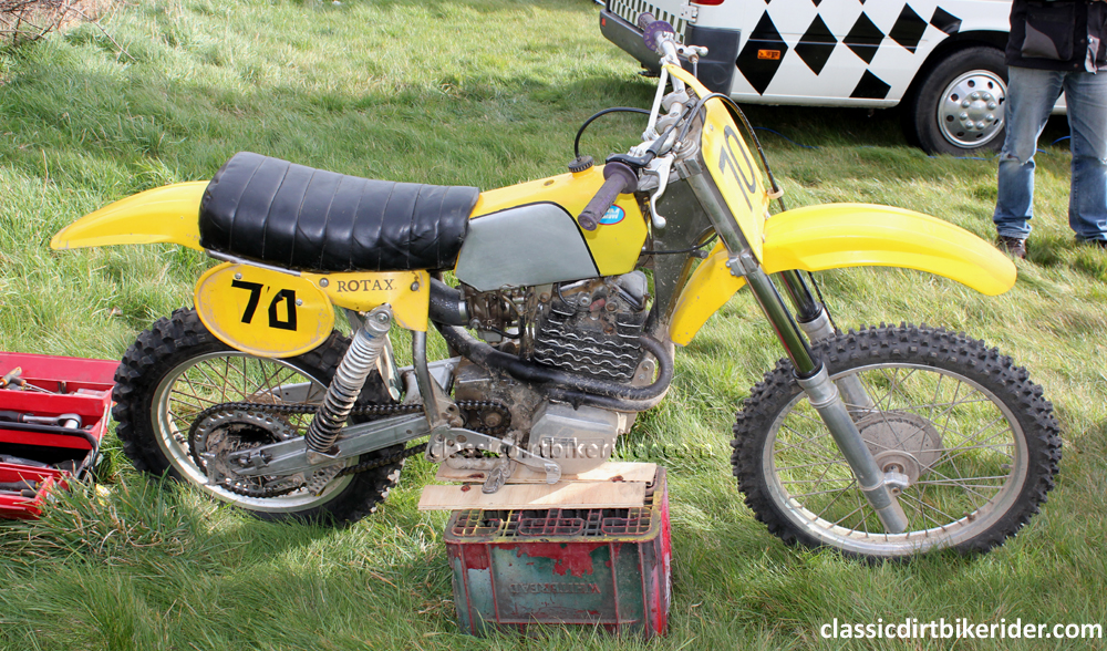 CCM ARMSTRONG ROTAX FOUR-STROKE MOTOCROSS SPECIAL GEOFF STOKES FRANCE  classicdirtbikerider.com