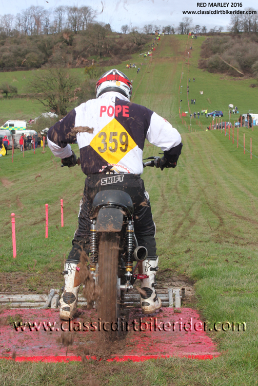 Carl Pope Red Marley Hill Climb 2016 Photos Pictures Report Results www.classicdirtbikerider.com