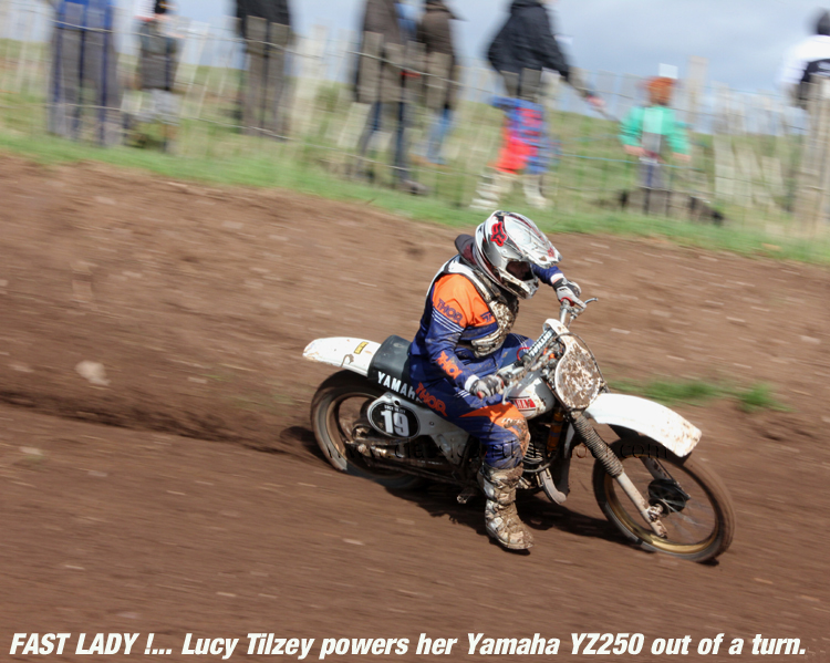 National Twinshock Championship Round 1 Polesworth March 2016 #19 Lucy Tilzey classicdirtbikerider.com Photo By Mr J 34