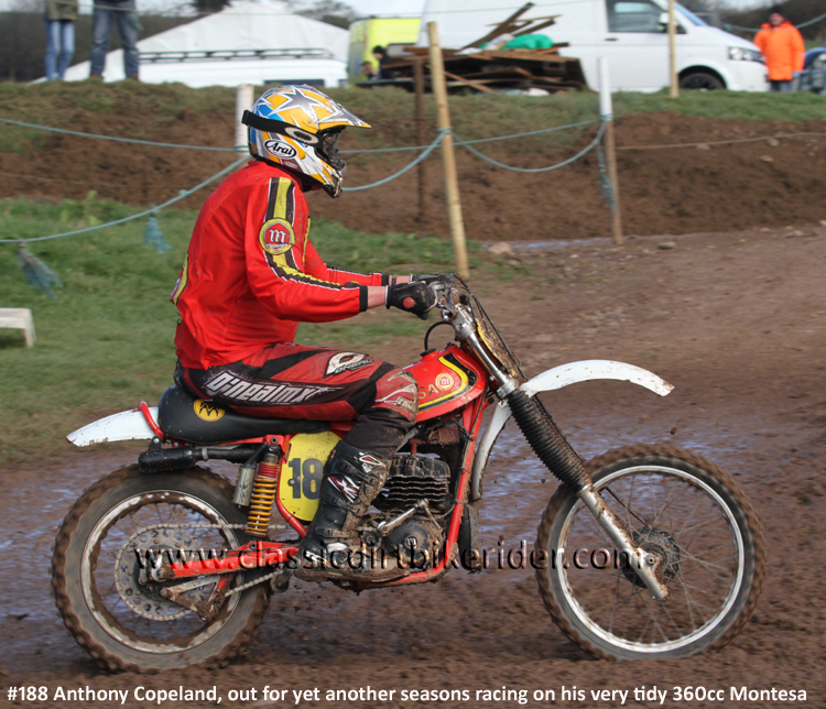 National Twinshock Championship Round 1 Polesworth March 2016 MONTESA 360 MX classicdirtbikerider.com Photo By Mr J 84