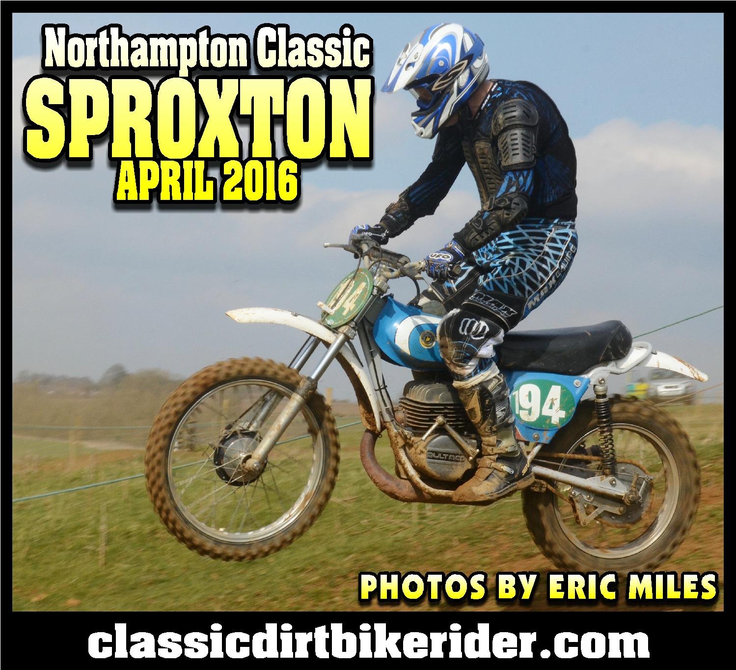 Northampton Classic Scramble Sproxton April 2016 www.classicdirtbikerider.com Photos by Eric Miles (1)