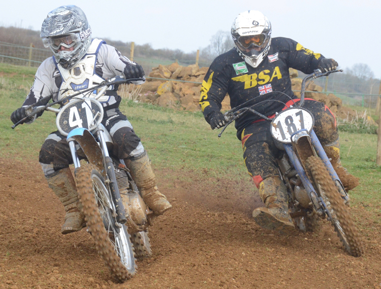 Northampton Classic Scramble Sproxton April 2016 www.classicdirtbikerider.com Photos by Eric Miles (13)