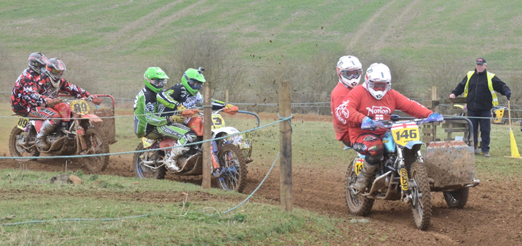 Northampton Classic Scramble Sproxton April 2016 www.classicdirtbikerider.com Photos by Eric Miles (14)