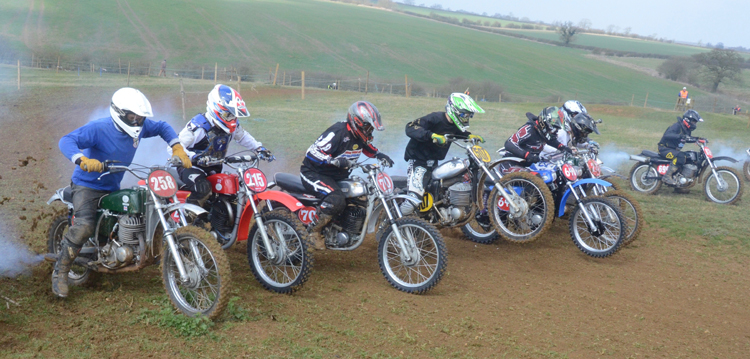 Northampton Classic Scramble Sproxton April 2016 www.classicdirtbikerider.com Photos by Eric Miles (18)