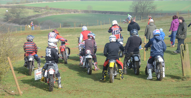 Northampton Classic Scramble Sproxton April 2016 www.classicdirtbikerider.com Photos by Eric Miles (2)