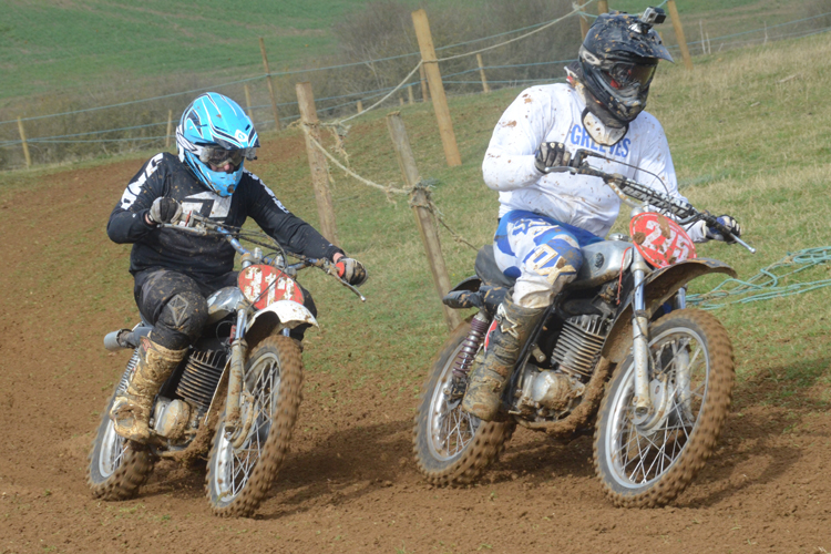 Northampton Classic Scramble Sproxton April 2016 www.classicdirtbikerider.com Photos by Eric Miles (20)