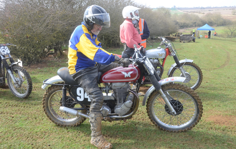 Northampton Classic Scramble Sproxton April 2016 www.classicdirtbikerider.com Photos by Eric Miles (23)