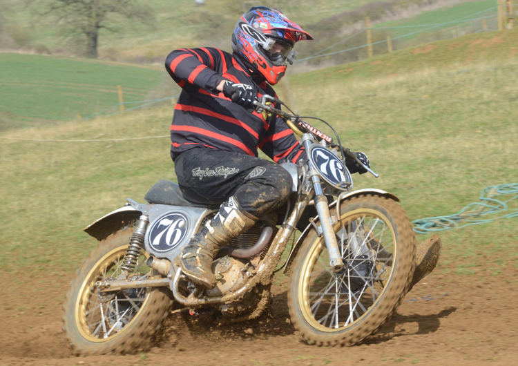 Northampton Classic Scramble Sproxton April 2016 www.classicdirtbikerider.com Photos by Eric Miles (25)