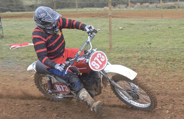 Northampton Classic Scramble Sproxton April 2016 www.classicdirtbikerider.com Photos by Eric Miles (28)