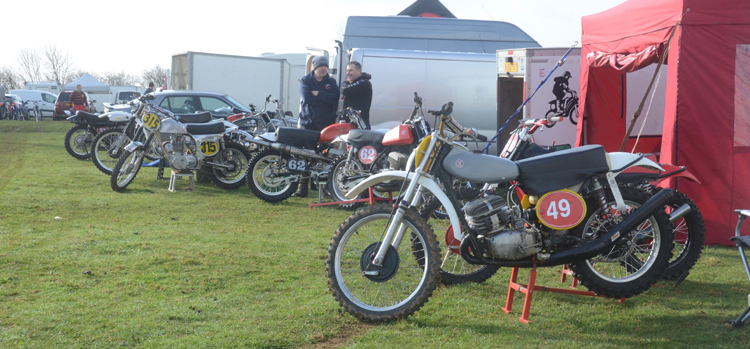 Northampton Classic Scramble Sproxton April 2016 www.classicdirtbikerider.com Photos by Eric Miles (3)