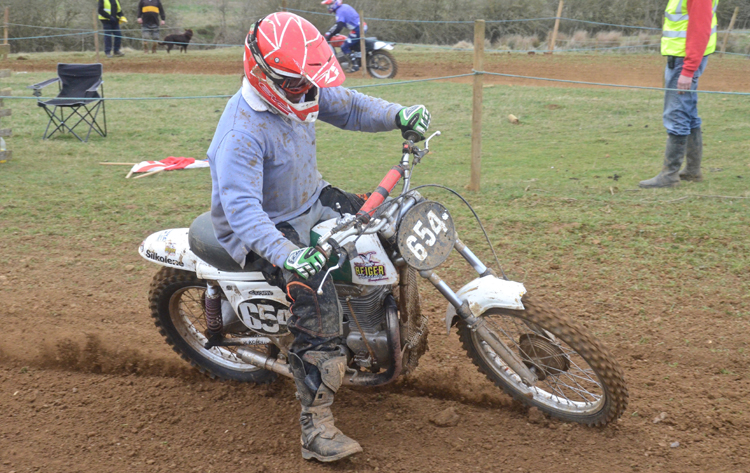 Northampton Classic Scramble Sproxton April 2016 www.classicdirtbikerider.com Photos by Eric Miles (30)