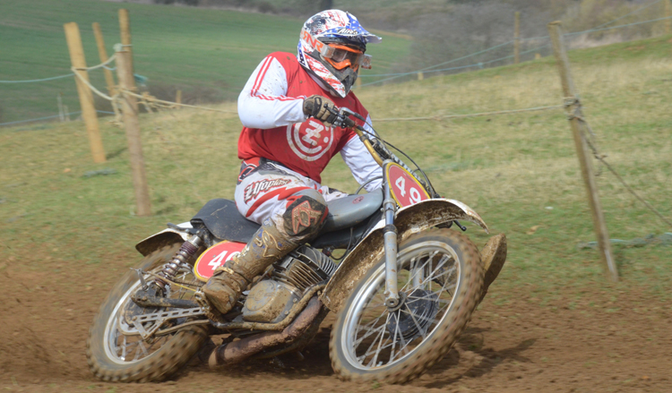 Northampton Classic Scramble Sproxton April 2016 www.classicdirtbikerider.com Photos by Eric Miles (31)