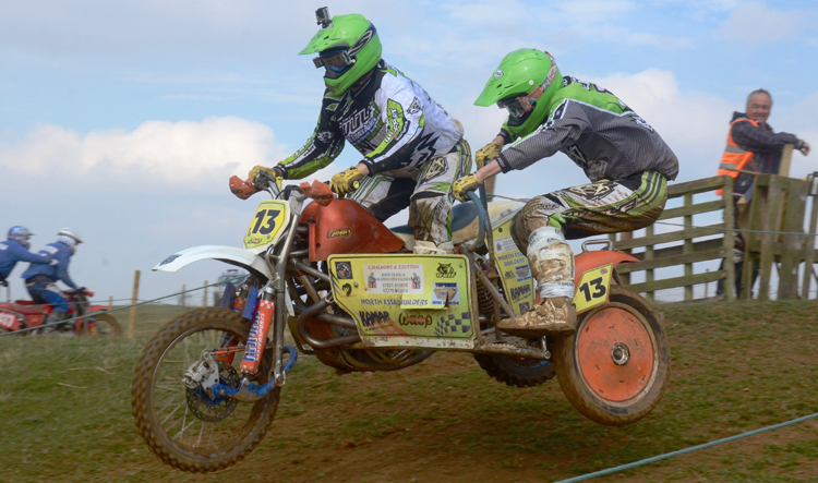 Northampton Classic Scramble Sproxton April 2016 www.classicdirtbikerider.com Photos by Eric Miles (37)
