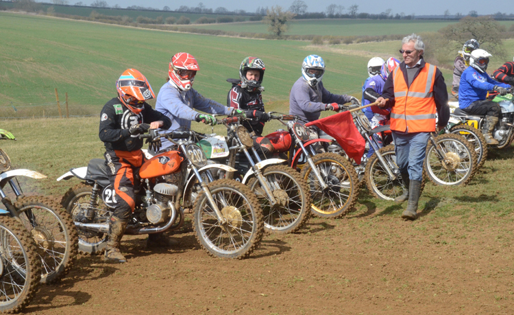 Northampton Classic Scramble Sproxton April 2016 www.classicdirtbikerider.com Photos by Eric Miles (38)