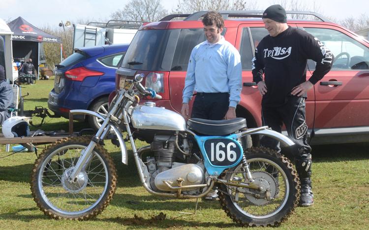 Northampton Classic Scramble Sproxton April 2016 www.classicdirtbikerider.com Photos by Eric Miles (39)