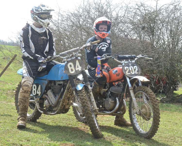 Northampton Classic Scramble Sproxton April 2016 www.classicdirtbikerider.com Photos by Eric Miles (4)