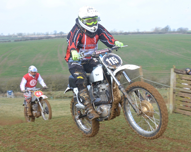Northampton Classic Scramble Sproxton April 2016 www.classicdirtbikerider.com Photos by Eric Miles (42)