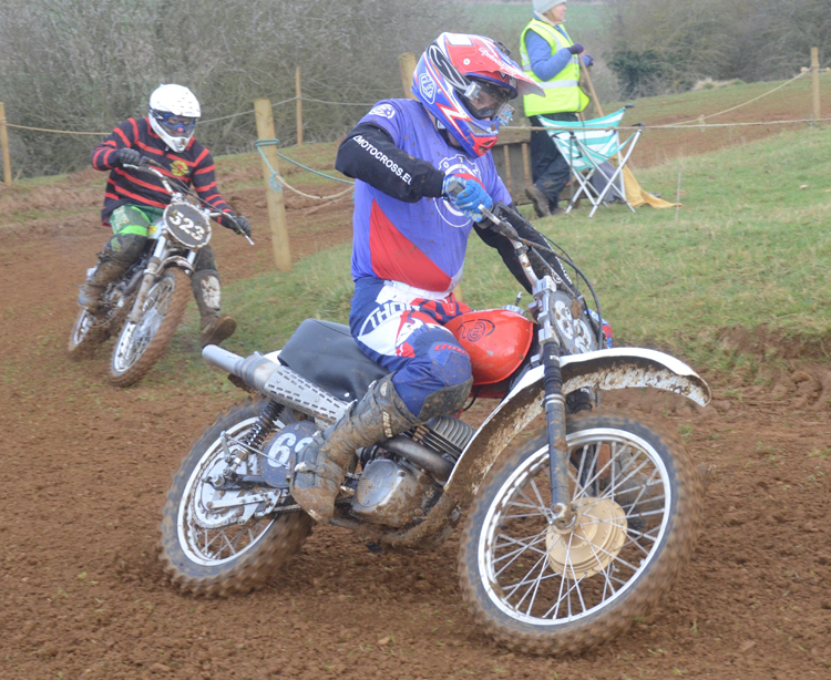 Northampton Classic Scramble Sproxton April 2016 www.classicdirtbikerider.com Photos by Eric Miles (44)