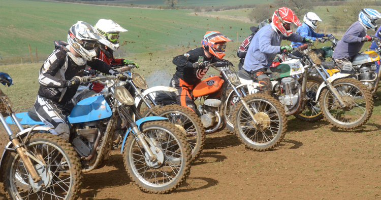 Northampton Classic Scramble Sproxton April 2016 www.classicdirtbikerider.com Photos by Eric Miles (45)